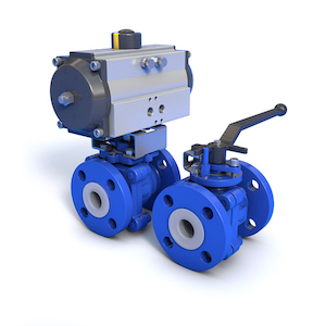 amresist acris pfa lined ball valves
