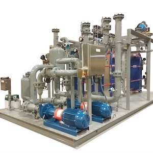 Process Skid Process Water Heating Cooling