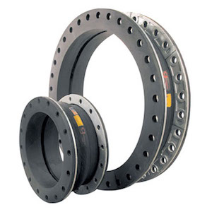 General Rubber flex expansion joints single wide arch