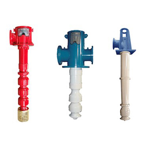 Peerless vertical turbine pump group