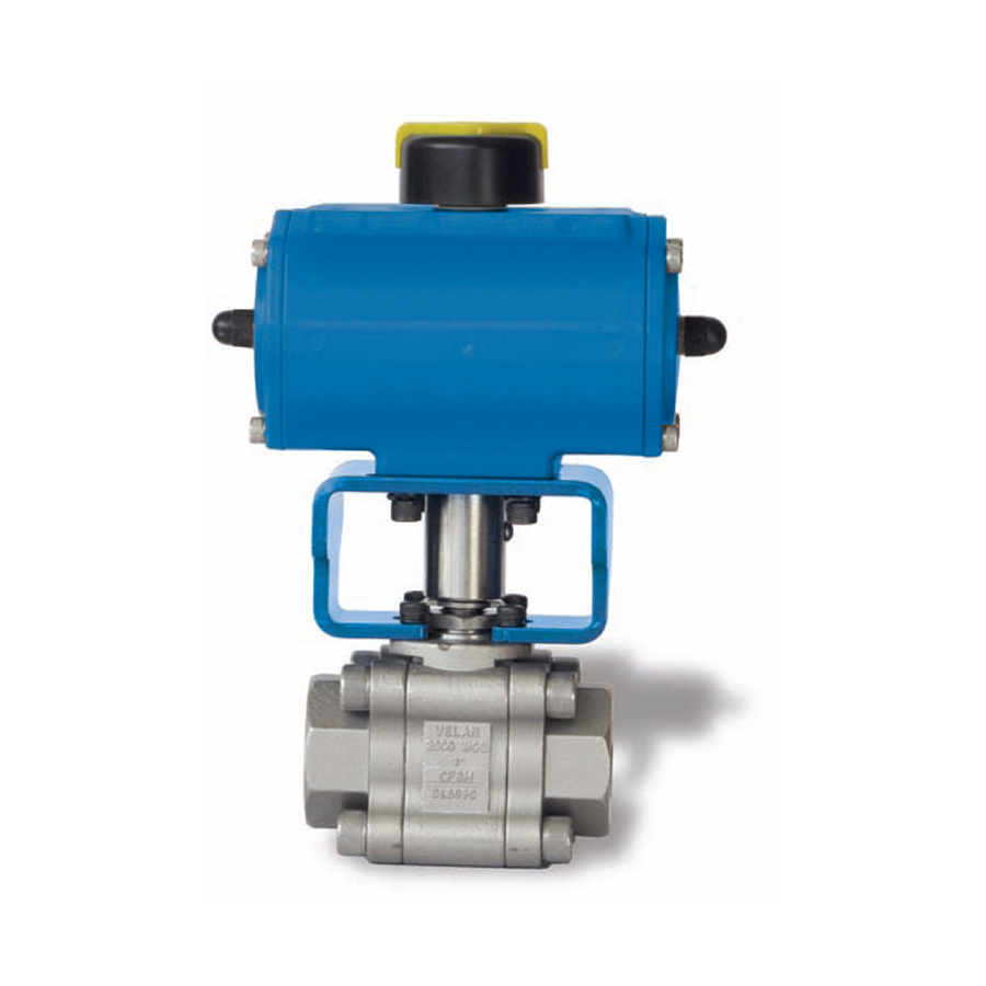 Velan Valve VTP 2000 actuated