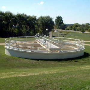 Smith Loveless clar i vator wastewater clarifier