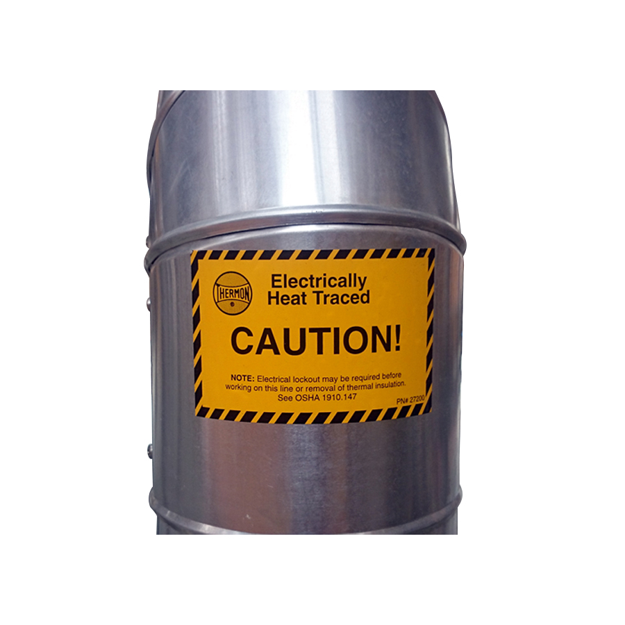 Thermon-Caution-Labels-25Pkg-27200