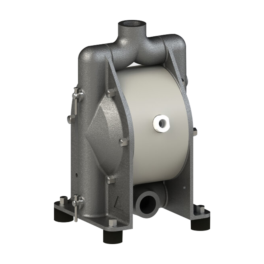 Almatec chemicor Stainless steel aodd pump