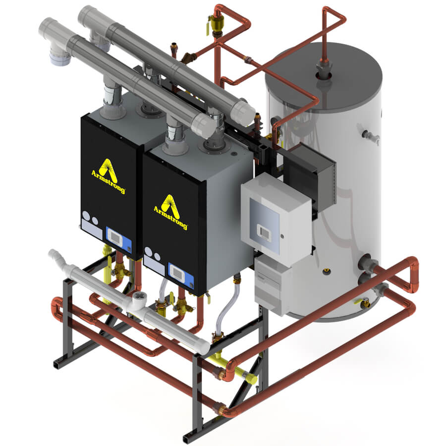 ABH-Gas-fired-hot-water-heater-with-Brain-DRV