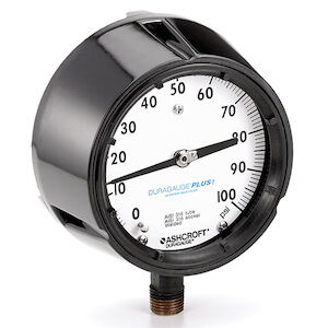 Ashcroft 1279 Duragauge Pressure Gauge - 451279AS02L100#