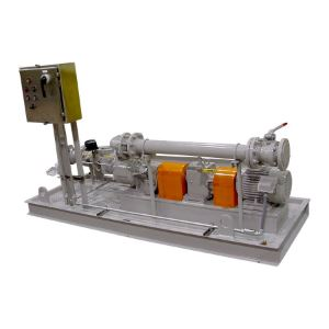 Pump Package with Control Panel