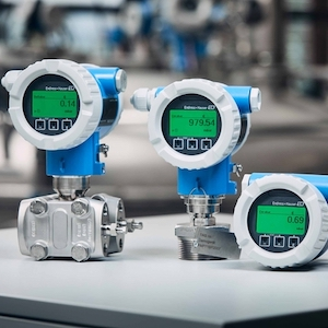 E+H Cerabar and Deltabar Pressure Devices IIoT Group