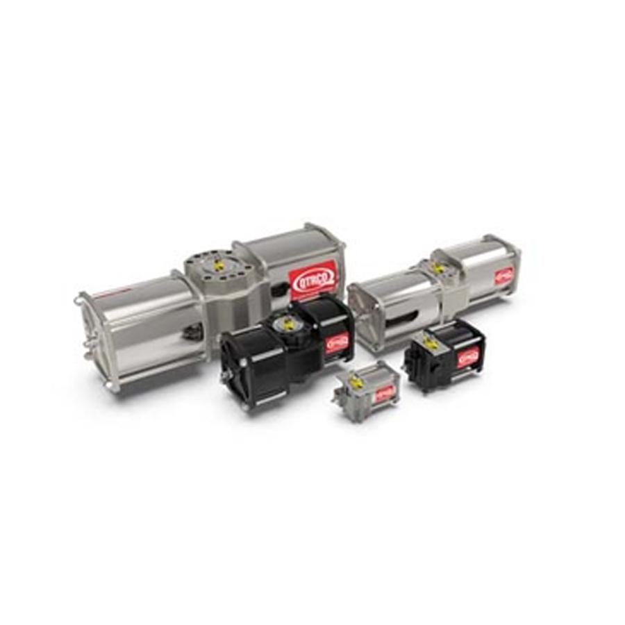 QTRCO q series pneumatic valve actuator