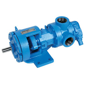 Viking Pump Model HL124A Cast Iron Gear Pump 4-1412-261A-001