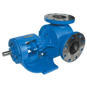 Viking Pump Model LQ4124B Cast Iron Gear Pump 4-3320-26HA-502