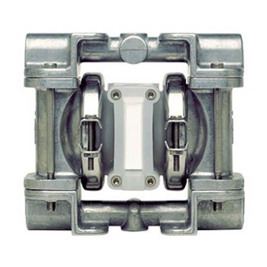 "Wilden AODD Pump - P.025 - 00-9733 - 6 mm (1/4"") Pro-Flo® Series Clamped Stainless Steel Pump with Teflon & Neoprene"