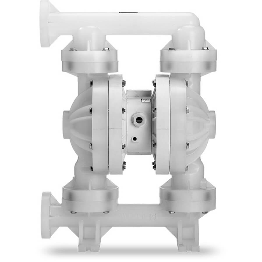 """Wilden AODD Pump - P400 - 04-12644 - 38 mm (1-1/2"""") Pro-Flo® Series Bolted Plastic Pump with Teflon and Wilflex"""