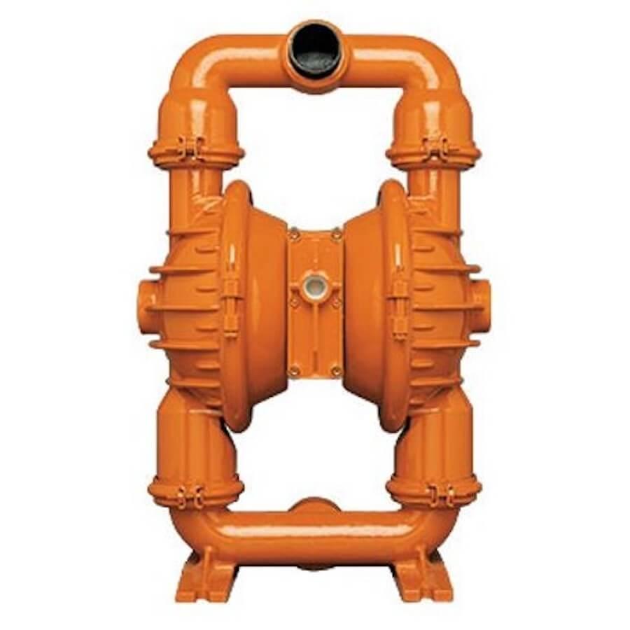"Wilden AODD Pump - P8 - 08-0111 - 51 mm (2"") Pro-Flo® Series Clamped Aluminum Pump with Buna"