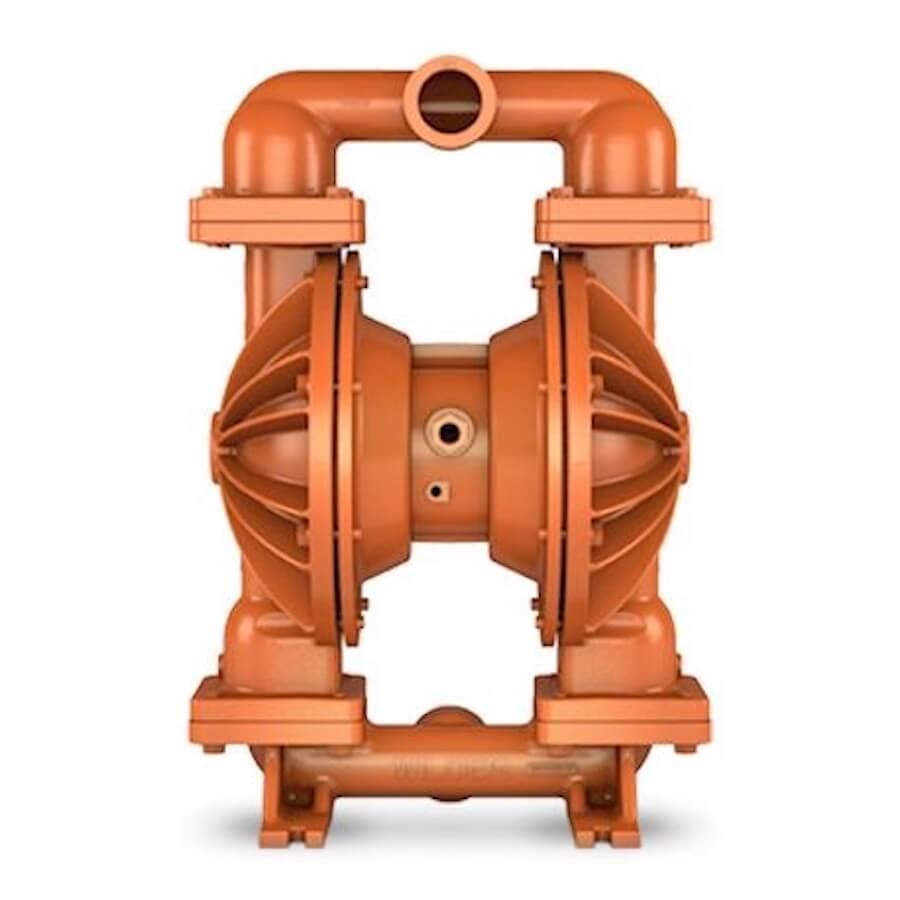 """Wilden AODD Pump - P820 - 08-15510 - 51 mm (2"""") Pro-Flo® Series Bolted Aluminum Pump with Santoprene (Wilflex)"""