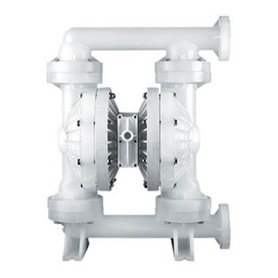 "Wilden AODD Pump - PS800 - 08-14987 - 51 mm (2"") Pro-Flo® SHIFT Series Bolted Plastic Pump with Santoprene (Wilflex)"