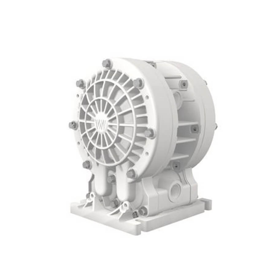 "Wilden AODD Pump - V150 - 01-11313 - 13 mm (1/2"") Velocity Series Bolted Kynar Pump with Teflon (PTFE)"