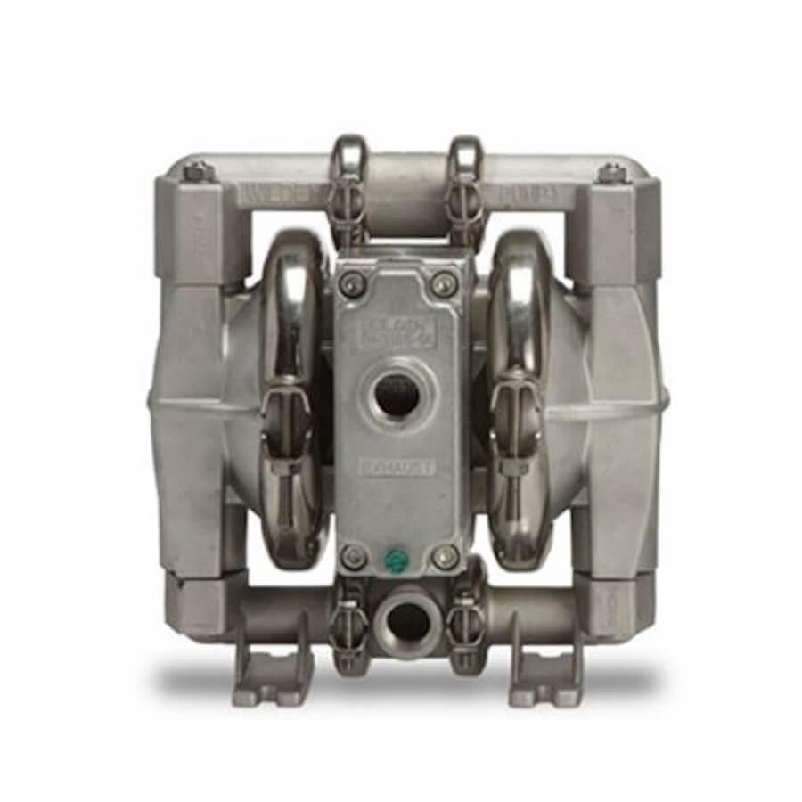 "Wilden AODD Pump - PS1 - 01-11241 - 13 mm (1/2"") Pro-Flo® SHIFT Series Clamped Stainless Steel Pump with Wil-Flex (Santoprene)"