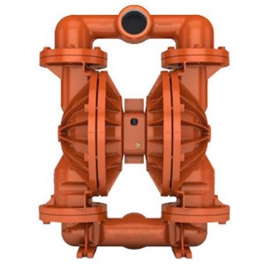 """Wilden AODD Pump - PS1520 - 15-12696 - 76 mm (3"""") Pro-Flo® SHIFT Series Bolted Aluminum Pump with Santoprene (Wilflex)"""