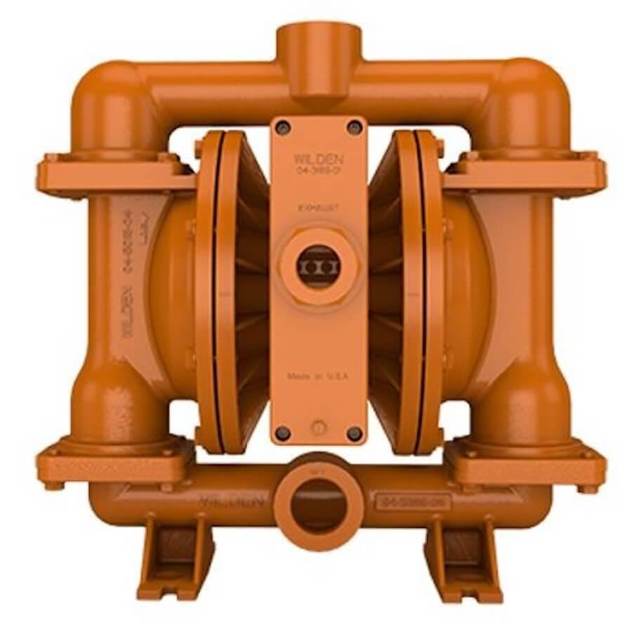 "Wilden AODD Pump - PS420 - 04-13527 - 38 mm (1-1/2"") Pro-Flo® SHIFT Series Bolted Aluminum Pump with Teflon and Wilflex"