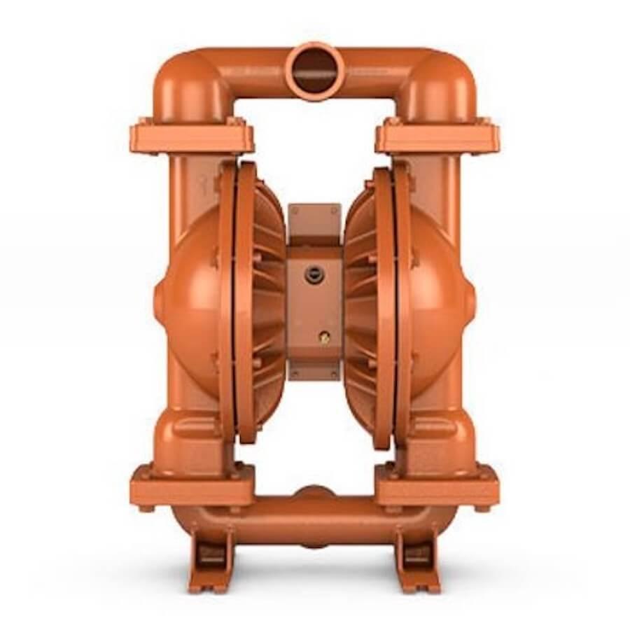 """Wilden AODD Pump - PS820 - 08-15311 - 51 mm (2"""") Pro-Flo® SHIFT Series Bolted Ductile Iron Pump with Santoprene (Wilflex)"""